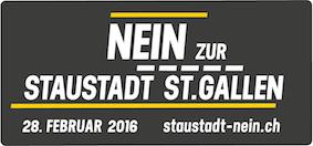Staustadt-NEIN